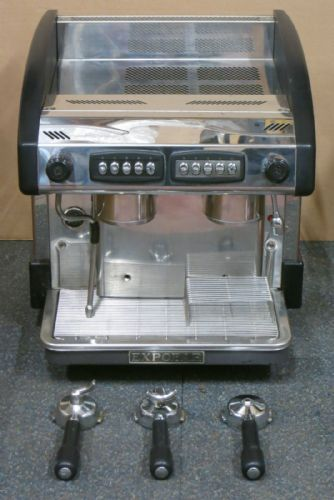 Expobar New Elegance 2 Group Compact Espresso Cappucino Coffee Machine